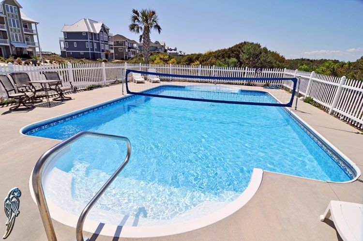100 Ocean View'S Cool Private Pooln Topsail  Oceanfront