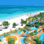 Aerial View From Beaches Negril  Family Resort Vacations