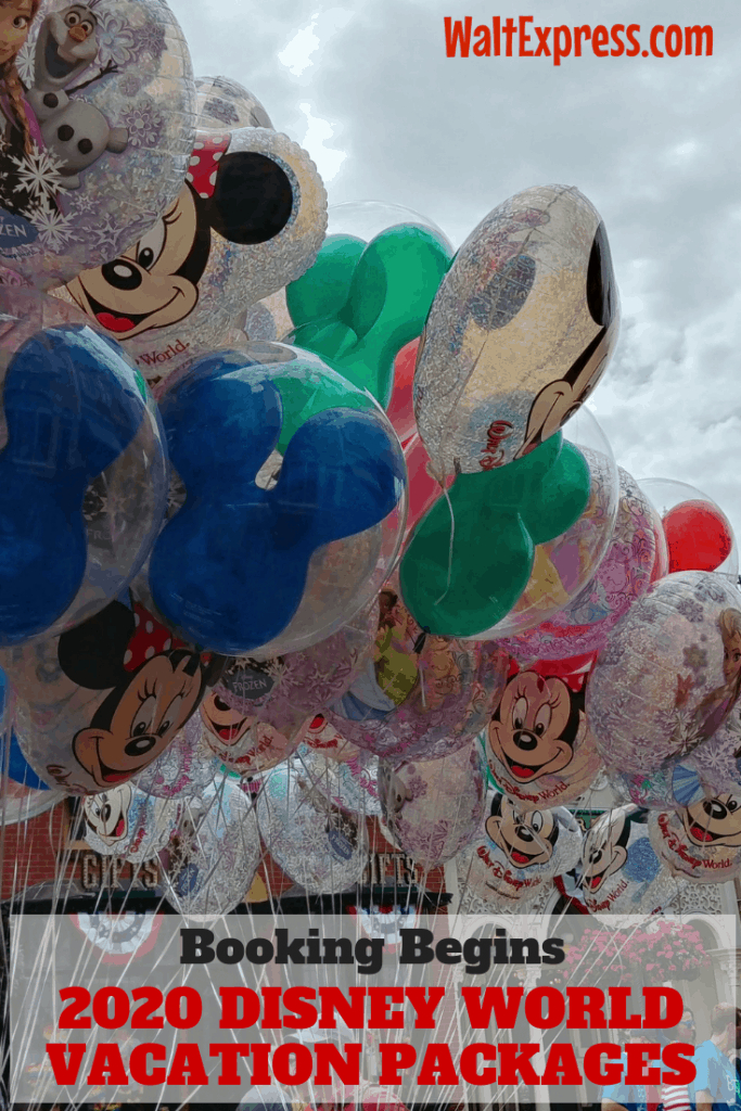 Booking Begins June 18 For 2020 Disney World Vacation Packages
