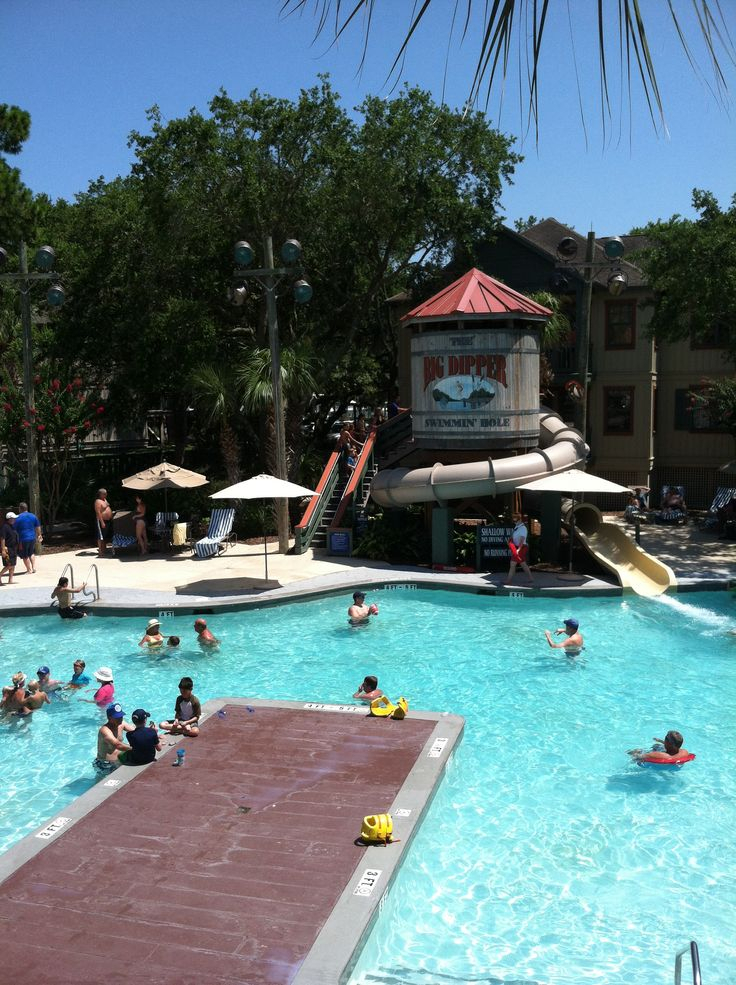 Check Out This Pool At Disney'S Hilton Head Island Resort