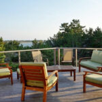 Deck With Furniture And View Wellfleet Cape Cod