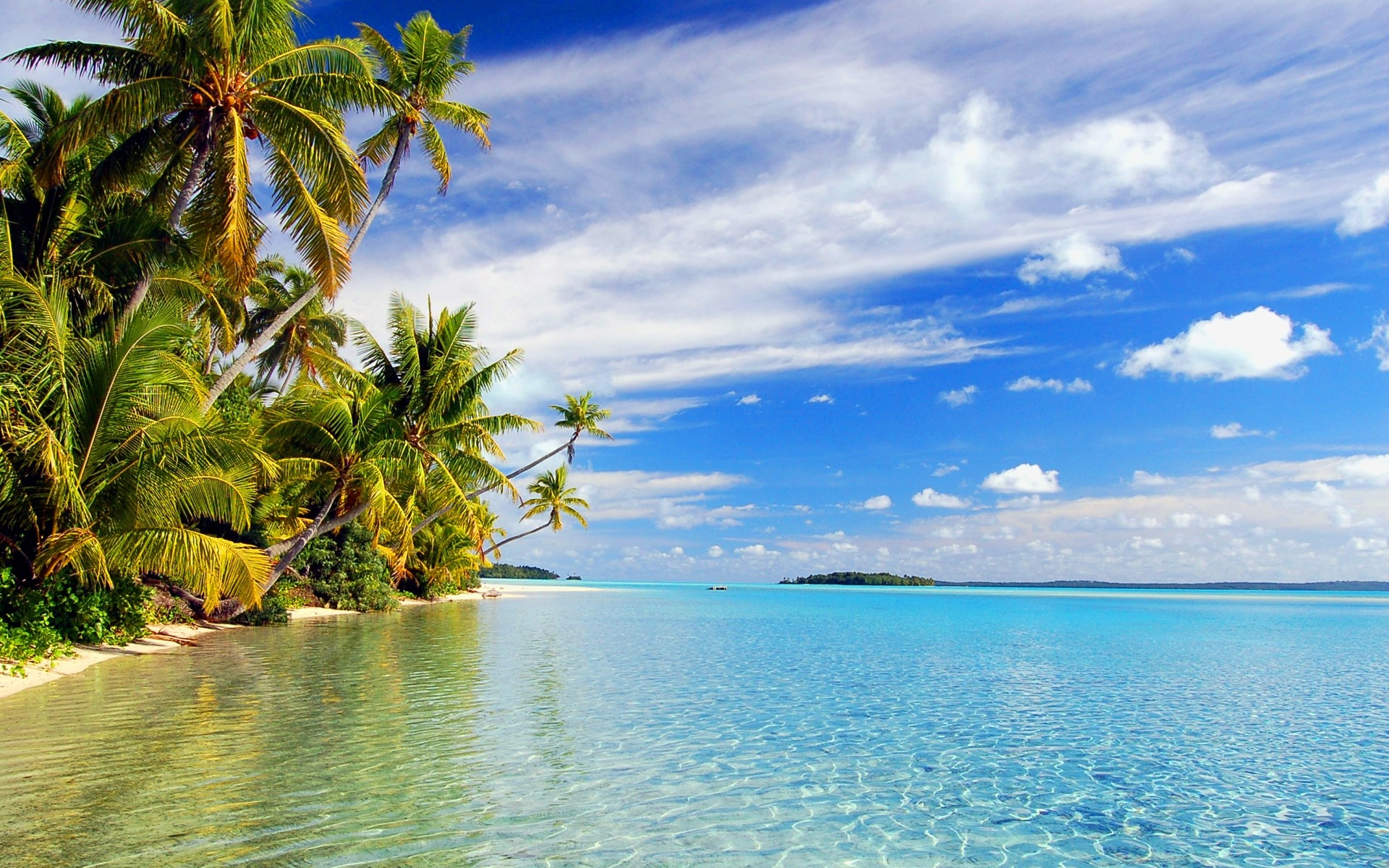 Free Download Hd Tropical Island Beach Paradise Wallpapers