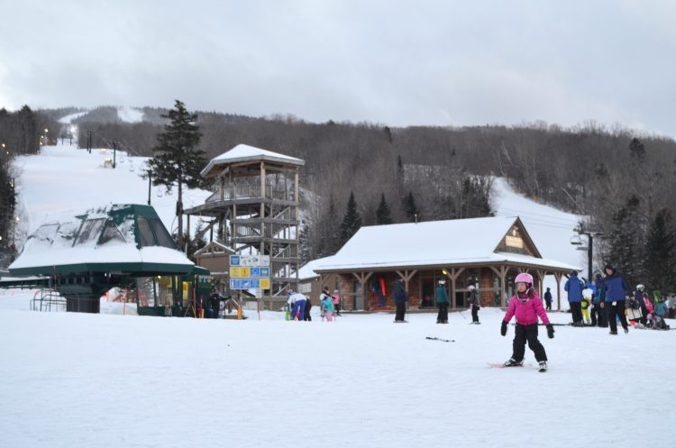 Skiing In Bretton Woods New Hampshire