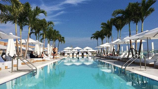 1 Hotel South Beach Rooftop  Rooftop Bar In Miami  The