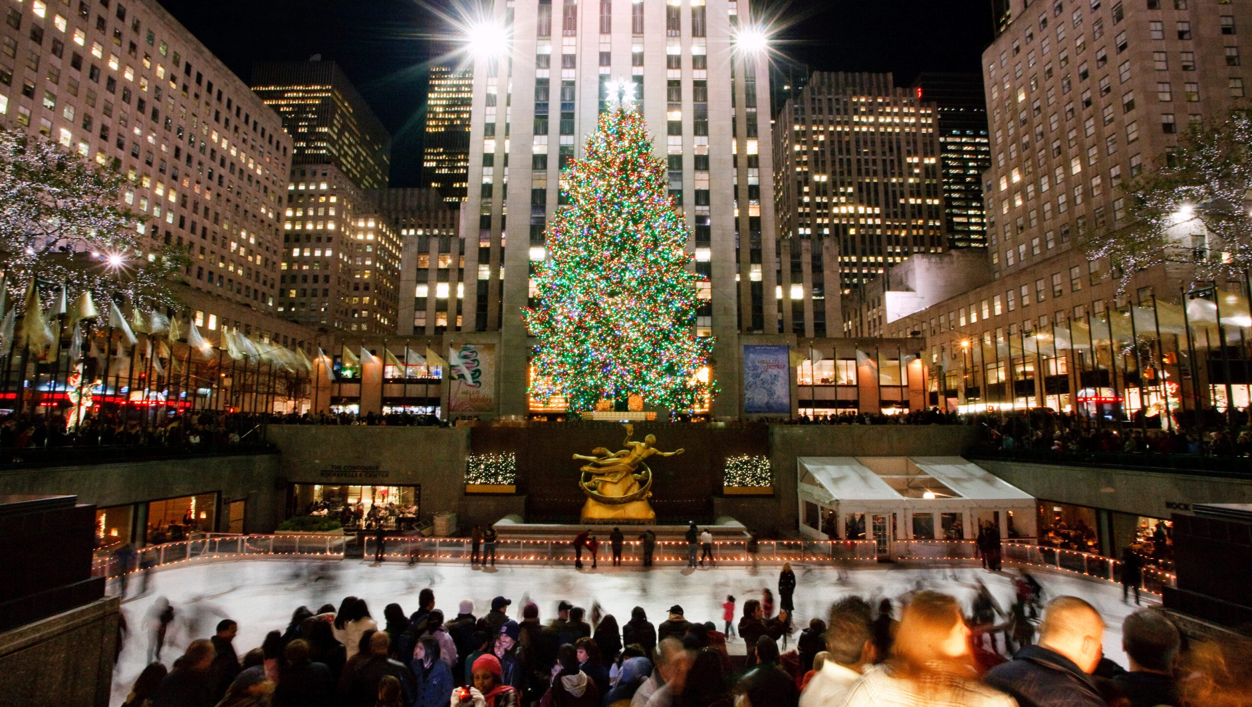 10Best Places To See Holiday Lights In Nyc
