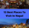 13 Best Places To Visit In Nepal With Pictures With