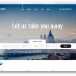 43 Best Free Travel Website Templates With Full Of Colors 2020