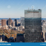 Boston Cityscapes Aerial View Of Boston Skyline From