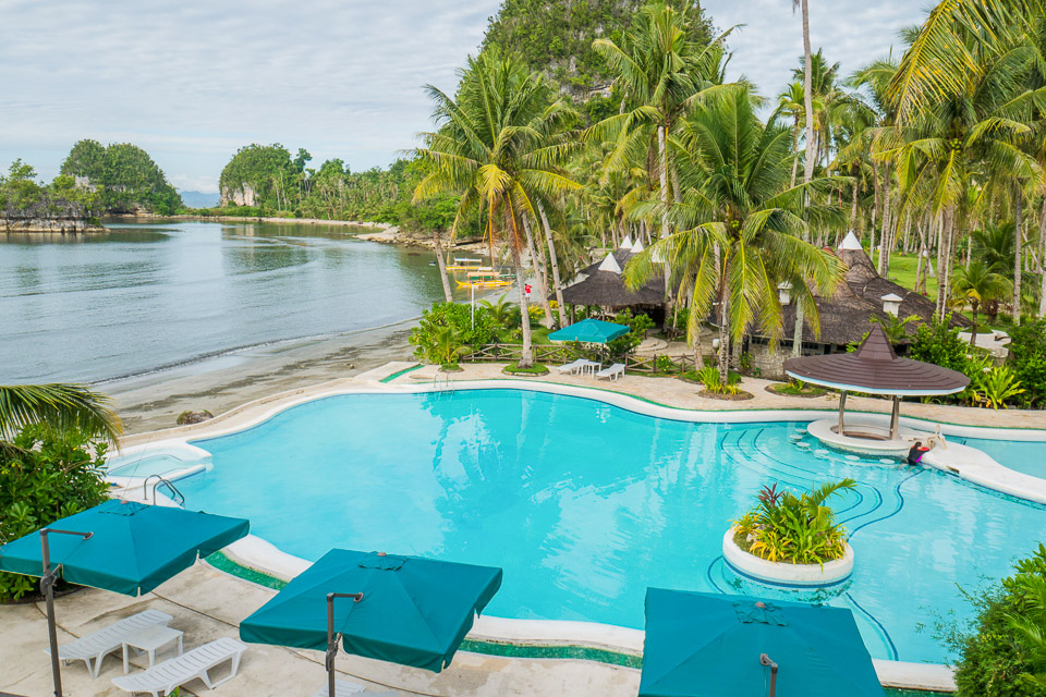 Caluwayan Palm Island Resort Secluded Cove Paradise In