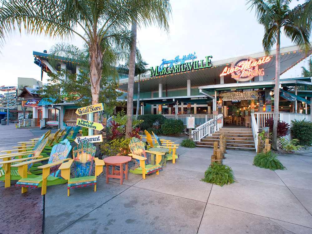 Casual Group Dining At Jimmy Buffett'S® Margaritaville