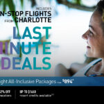 Charlotte Last Minute Allinclusive Vacation Packages
