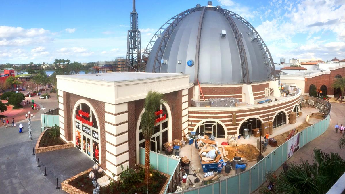 Disney Delays Planet Hollywood Observatory Opening