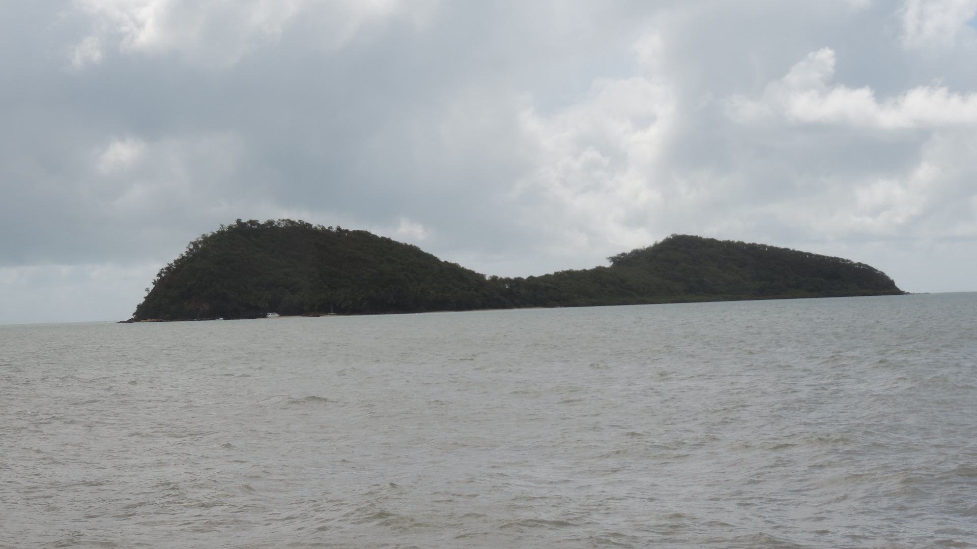 Filedouble Island Off Buchan Point As Seen From The Jetty