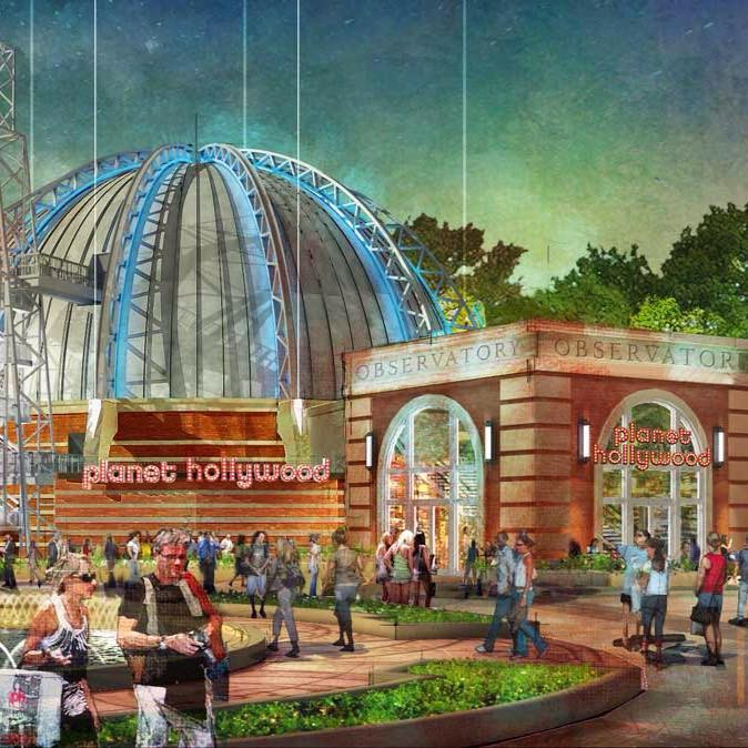 Flavortown Is About To Arrive As Planet Hollywood Begins