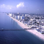Florida Memory • Aerial View Looking South Along The