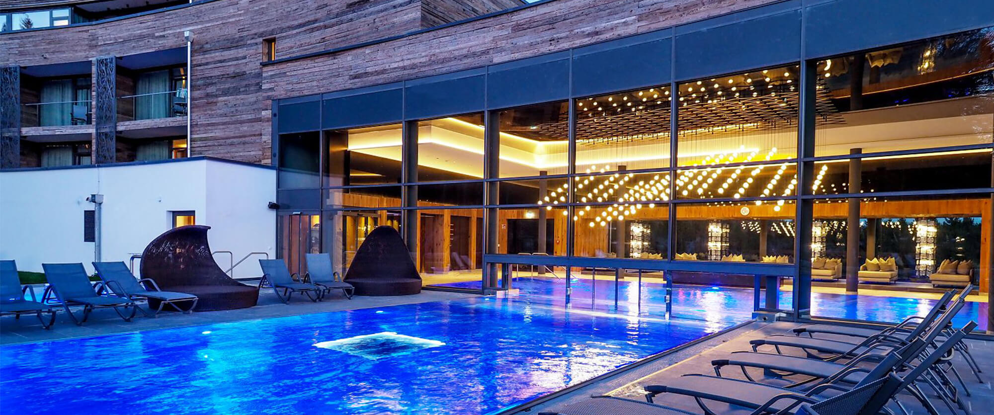 Hotel Swimming Pool Indoor Pool And Outdoor Pool