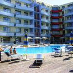 Large Pool View Studio In Central Plaza Sunny Beach Ibg