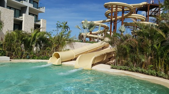 Large Waterslides  Picture Of Dreams Playa Mujeres Golf