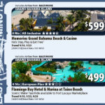 Last Minute Deals With Air From Baltimore  All Inclusive