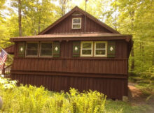 """Nice Fully Furnished Quiet Adirondack Camp """"Uncas Road"""