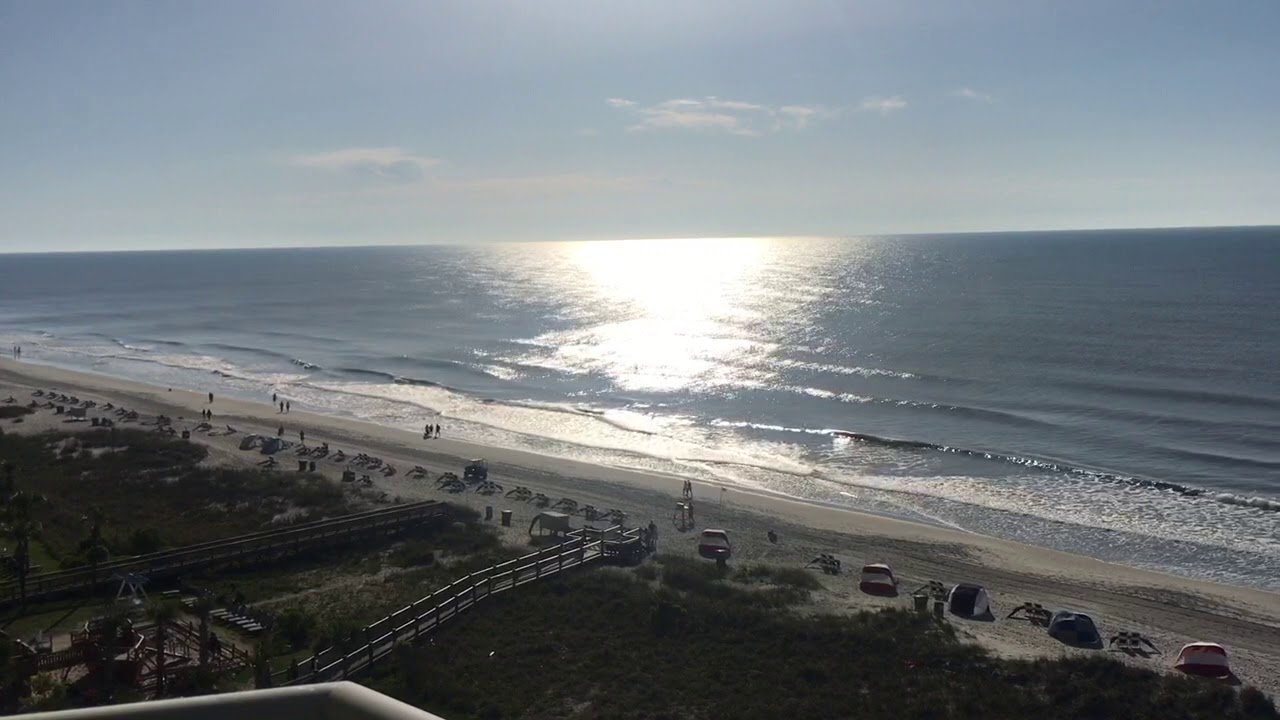 Ocean View Of The Myrtle Beach 🏖 1080P  Youtube