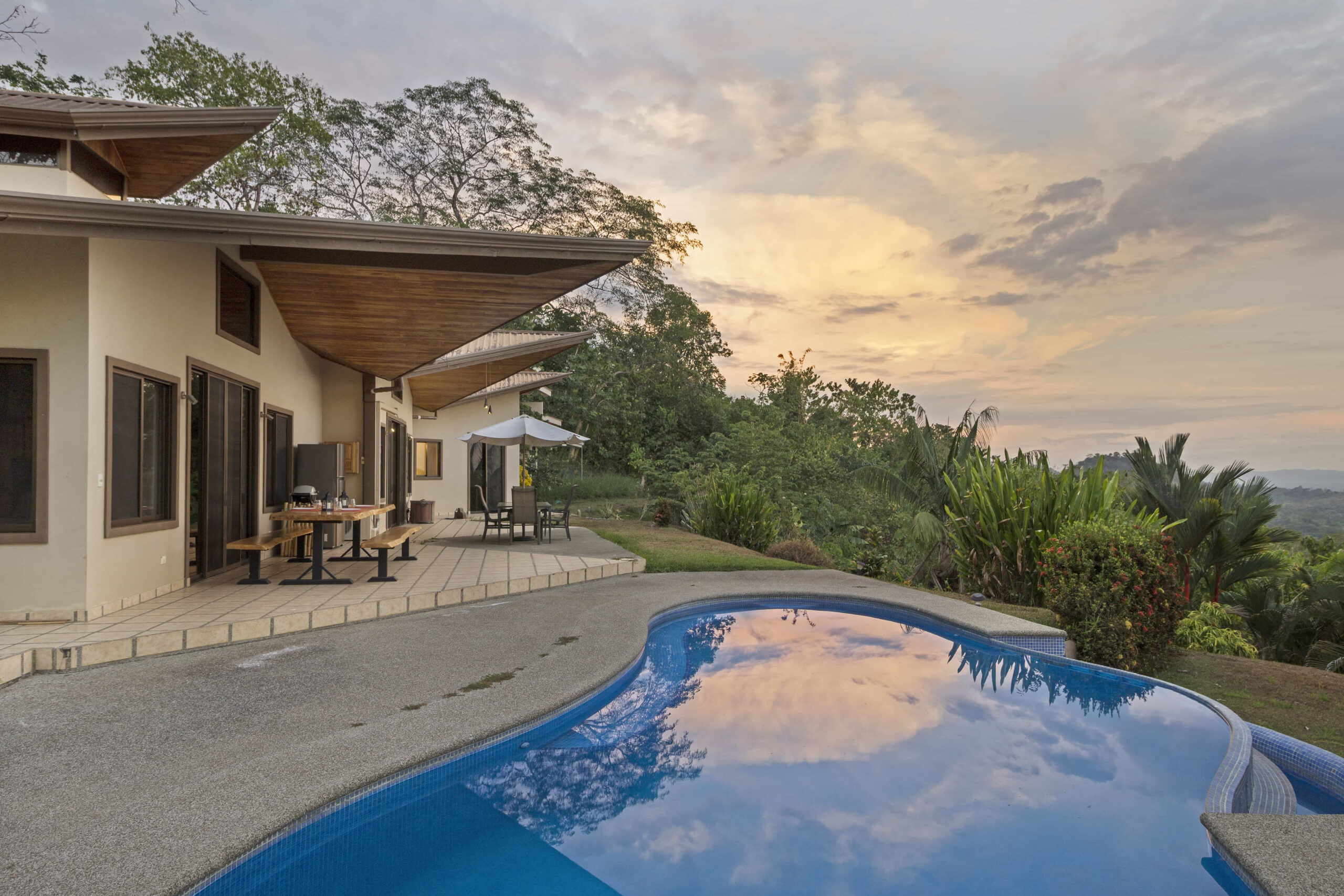 Ocean View Villa With A Guest House  Osa Tropical Properties