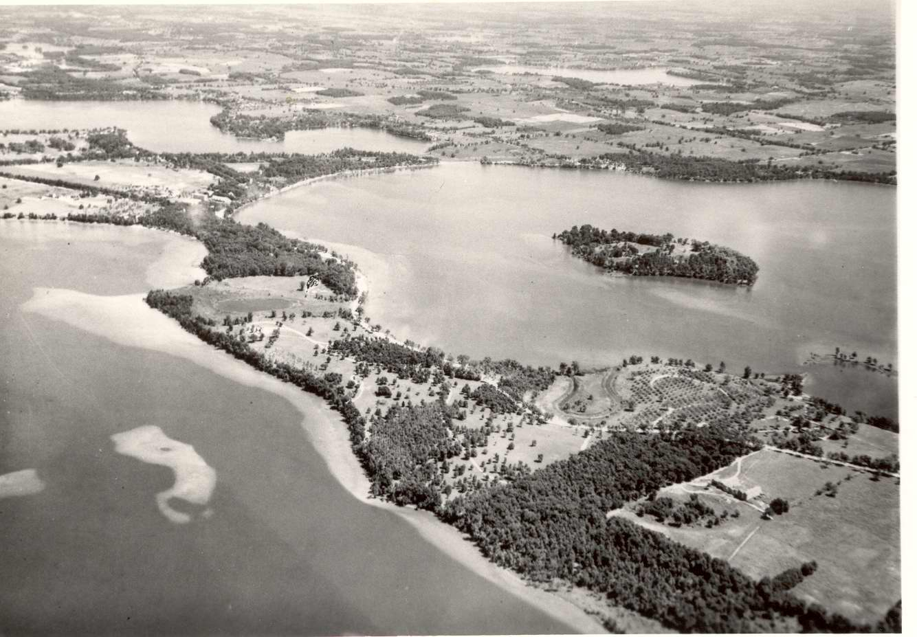 Orchard  Cass Aerial View — Greater West Bloomfield