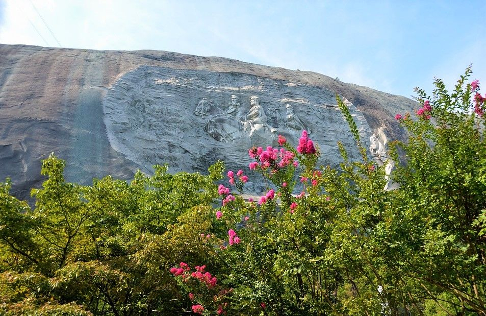 Stone Mountain Park Located At Stone Mountain That Is One