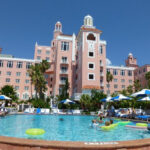 Sunset From The Pool  Picture Of The Don Cesar St Pete