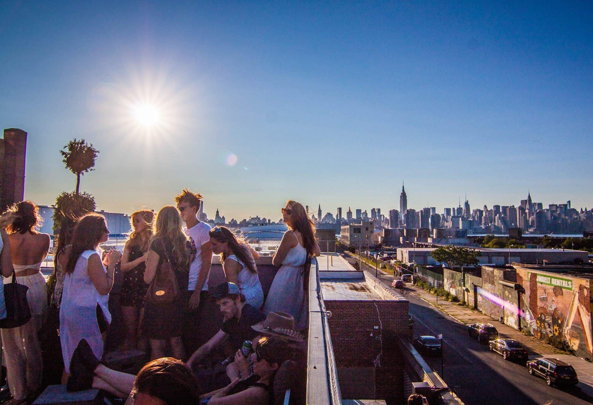 The Best Rooftop Bars In Brooklyn  Best Rooftop Bars
