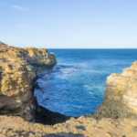 The Grotto In The Great Ocean Road Stock Image  Image Of