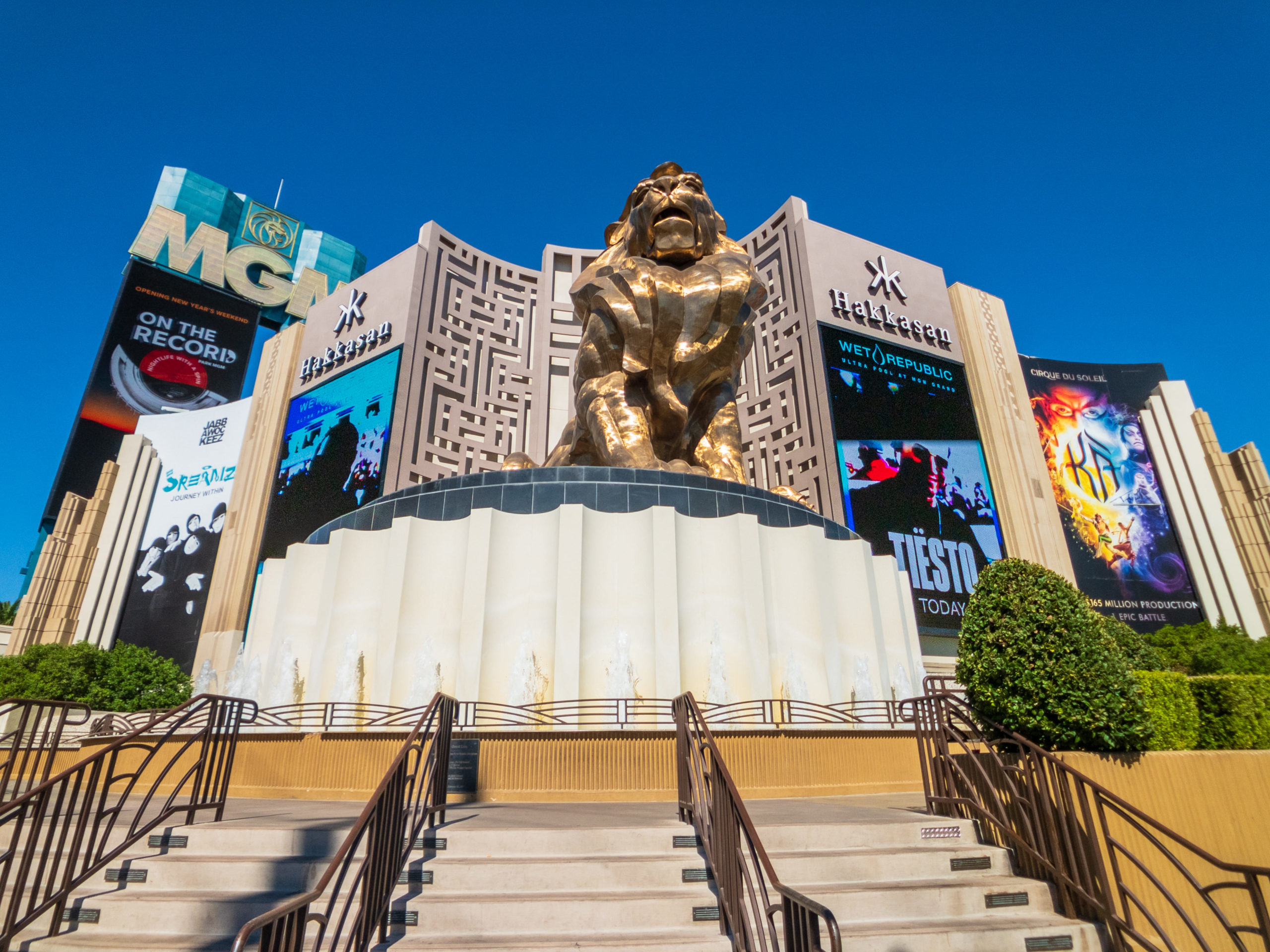 The History Of The Mgm Grand Hotel  Nv Local