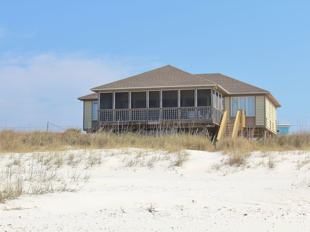 Turtle'S Nest  3 Bed / 2 Bath Gulf Front Home In Cape San