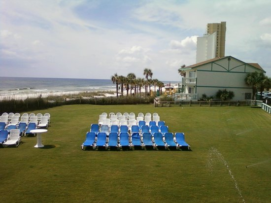 View From Room 201  Picture Of The Sandpiper Beacon Beach