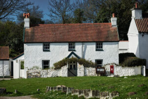 Gower Cottages At Penrice Castle Nr Oxwich