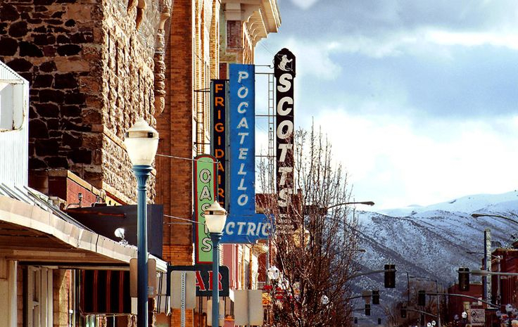 Historic Old Town  Broadway Shows Pocatello The
