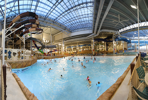 Largest Indoor Water Park In The Us Opens At Kalahari