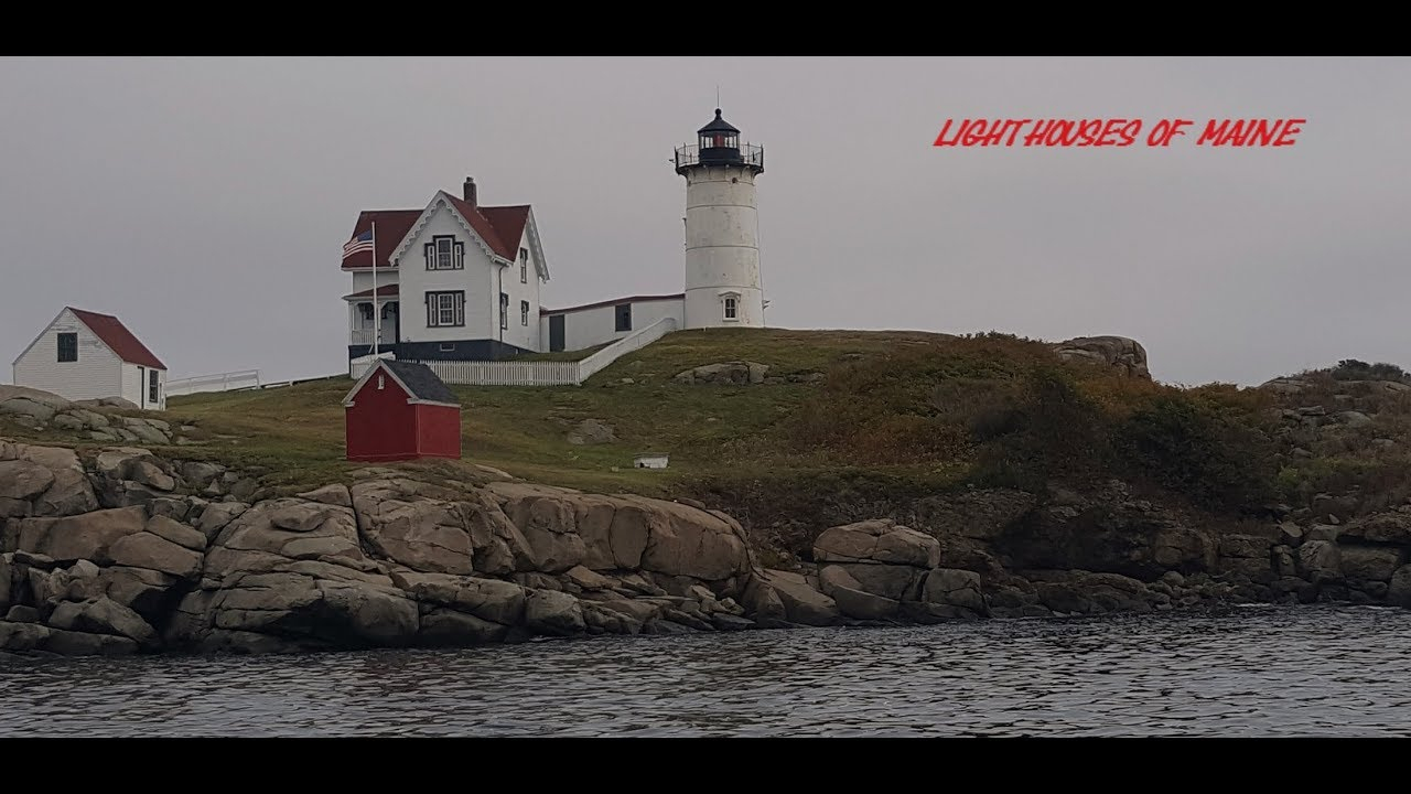 Lighthouses And Nice Views In Maine  Youtube