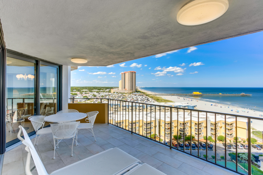 Myrtle Beach Vacation Rental Condo Great Ocean View And