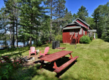 Northern Wisconsin Vacation Home  Cabin Rental  Clam Lake Wi