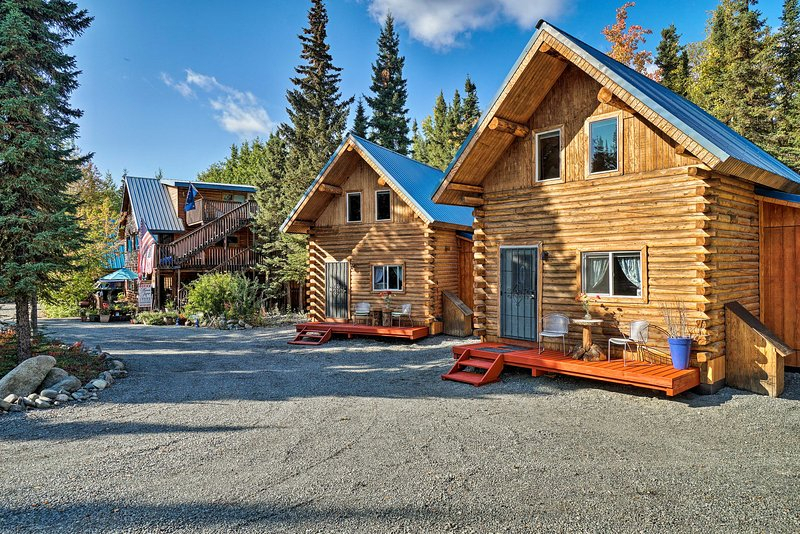Petfriendly Sterling Cabin W/ Kenai River View Updated