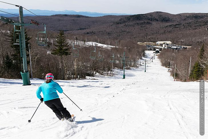 Skimaven At Bolton Valley For Day Two Of A Bright Vermont