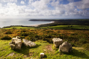 View Of Oxwich Bay From Cefn Bryn Oct19  Another Photo