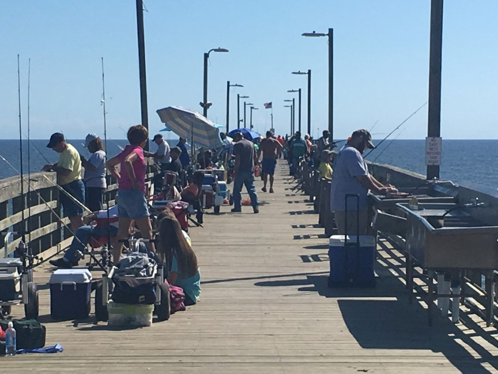 Fall Fishin' On Topsail Island It'S Great  From The