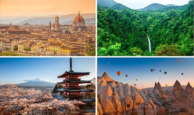 Holidays 2019 The Best Countries To Travel To Next Year
