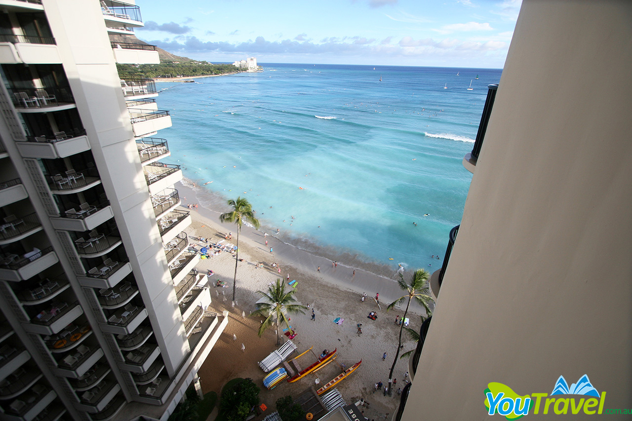 Outrigger Waikiki On The Beach Deluxe Ocean View Balcony