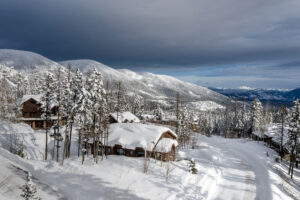 Spectacular Whitefish Mountain Resort Home With Direct Ski
